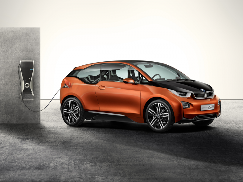 BMW i3 Concept Coupe Revealed [VIDEO]