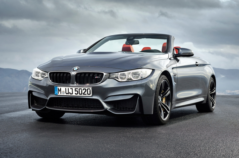 2015 Bmw M4 Convertible Front Seven Eighths View