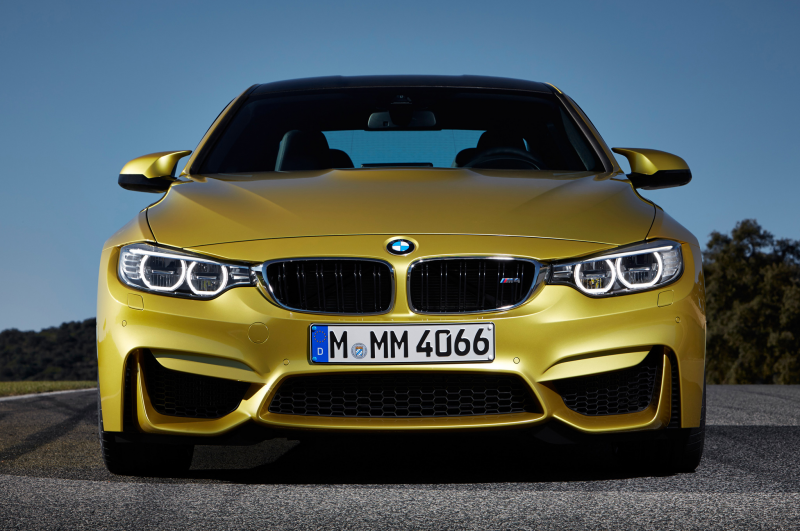 2015 Bmw M4 Front View