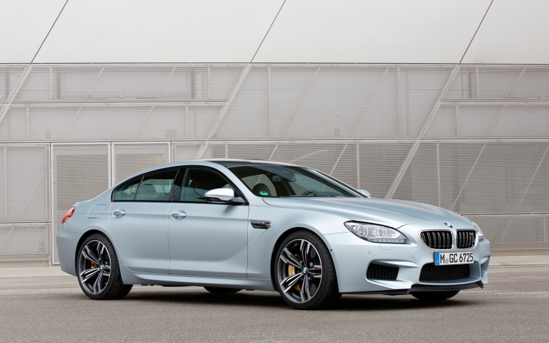 2014 Bmw M6 Gran Coupe Front Three Quarters 2