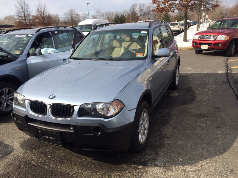 What's your take on the 2005 BMW X3?