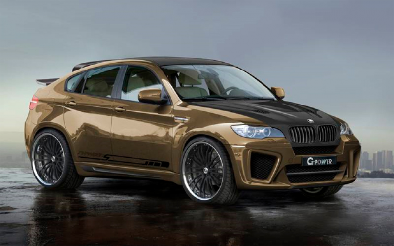 2012 BMW X6 and 2012 BMW X6 Active Hybrid Concept