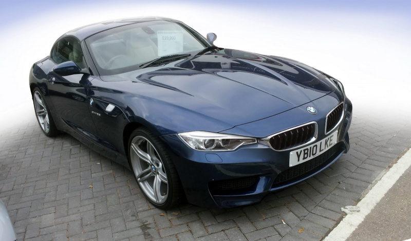 2013 BMW Z4 Speculatively Facelifted After the New 3-Series