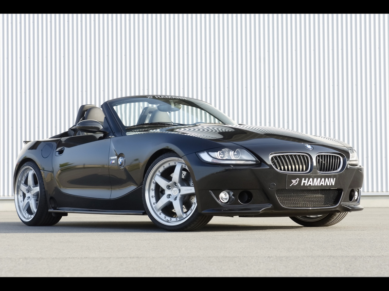 2007 Hamann BMW Z4 M Roadster - Front Angle - 1280x960 - Wallpaper