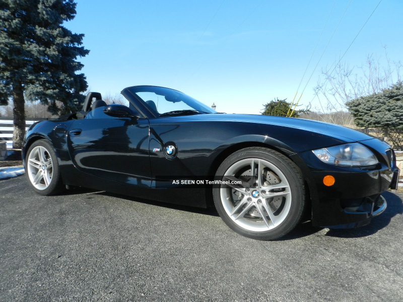 2007 Bmw Z4 M Roadster Convertible 2 - Door 3. 2l Z4 photo