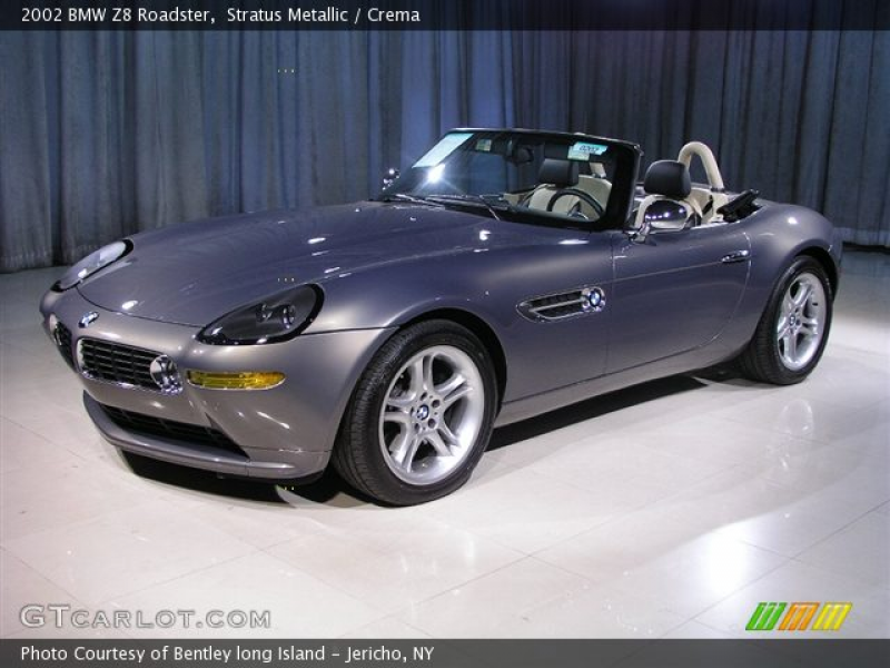 2002 BMW Z8 Roadster in Stratus Metallic. Click to see large photo.