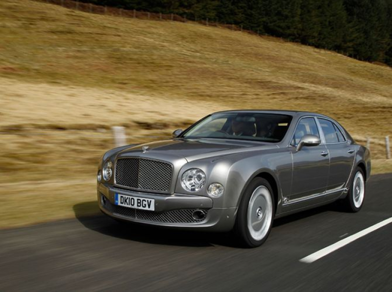 2011 Bentley Mulsanne Front Three Quarters Driver