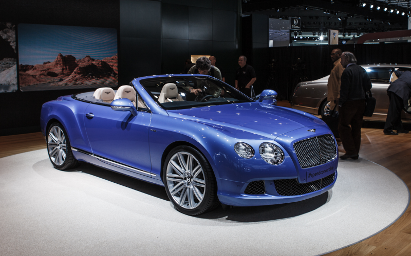 2013 Bentley Continental Gt Speed Front Three Quarters