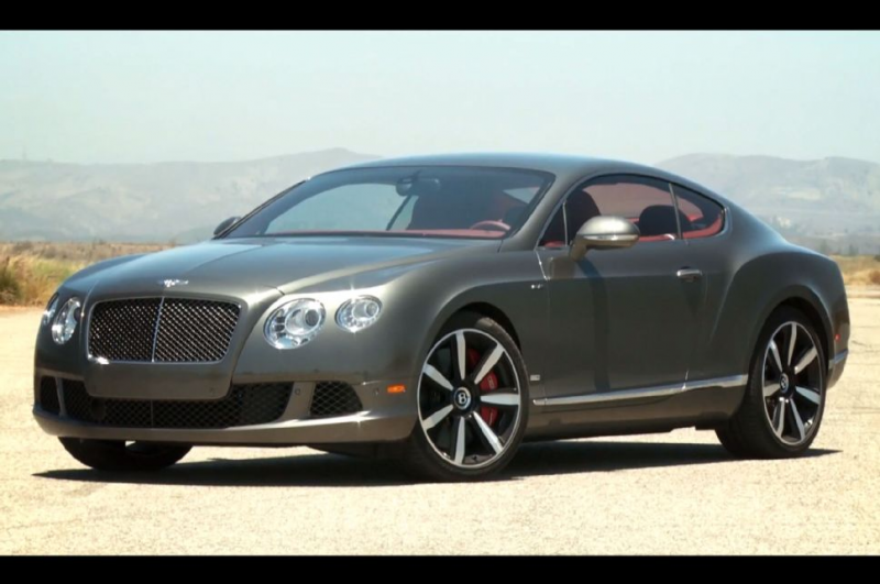 2013 Bentley Continental GT Speed Le Mans Edition Front Quarter ...