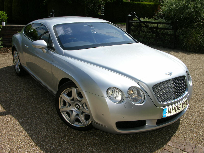 File:2006 Bentley Continental GT Mulliner - Flickr - The Car Spy (6 ...
