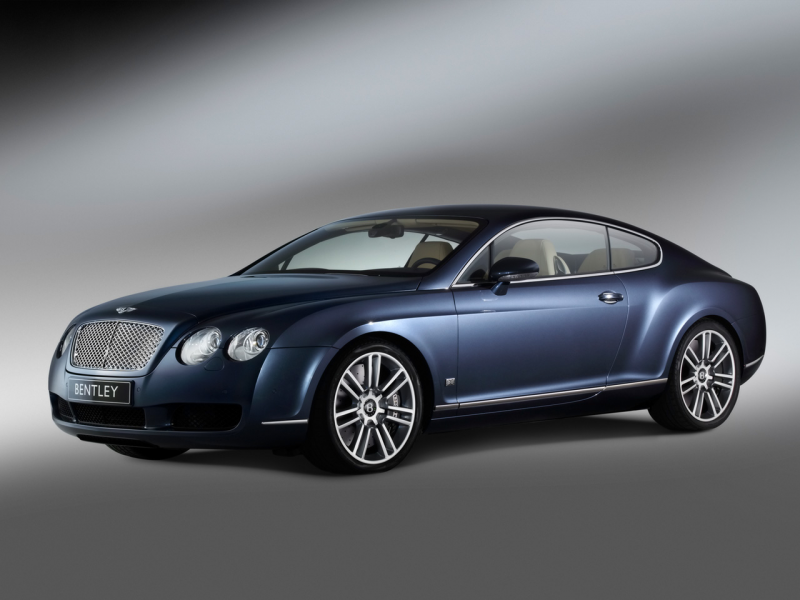 2006 Bentley Continental GT Diamond Series - Side Angle - 1280x960 ...