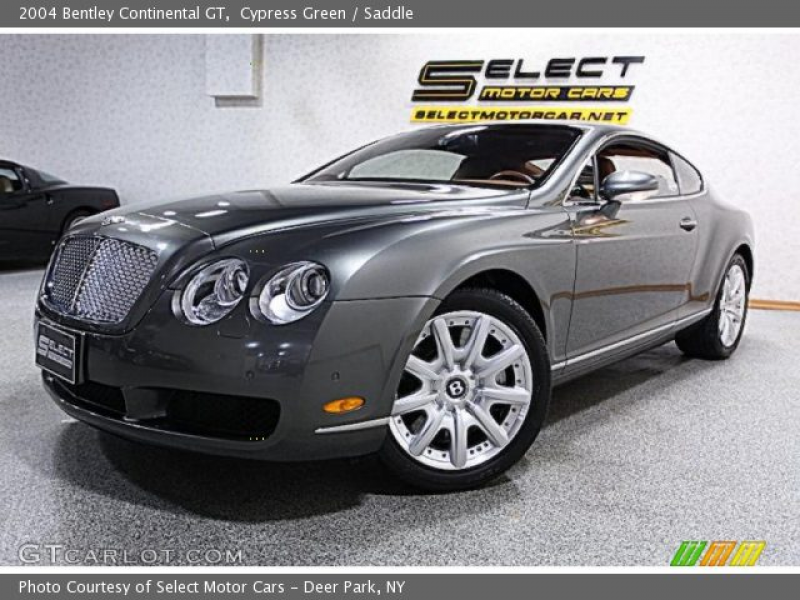 2004 Bentley Continental GT in Cypress Green. Click to see large photo ...
