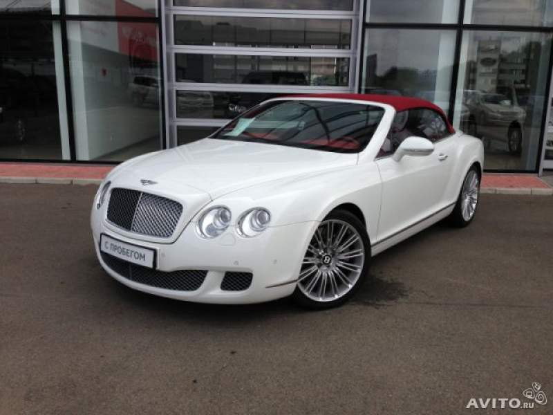 Bentley Continental GTC, 2010