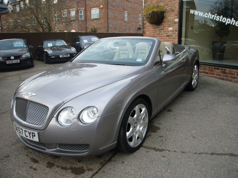 2007 57 Bentley Continental GTC Mulliner - Deposit taken