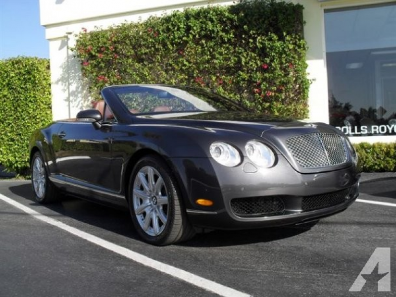For Sale: 2007 Bentley Continental GTC for sale in West Palm Beach ...