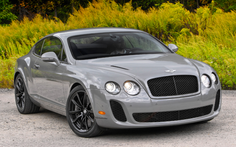 First Drive: 2010 Bentley Continental Supersports Photo Gallery
