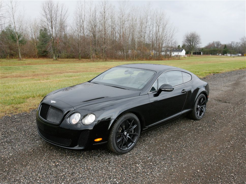2010 Bentley Continental Supersports Front Three Quarter View Photo 34