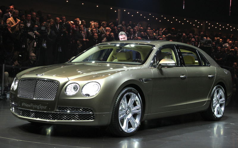 2014 Bentley Flying Spur Photo Gallery