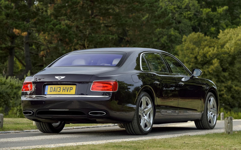 Bentley Flying Spur 2014 Rear
