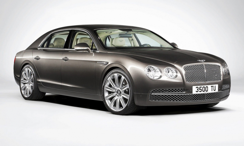 2014 Bentley Flying Spur Black