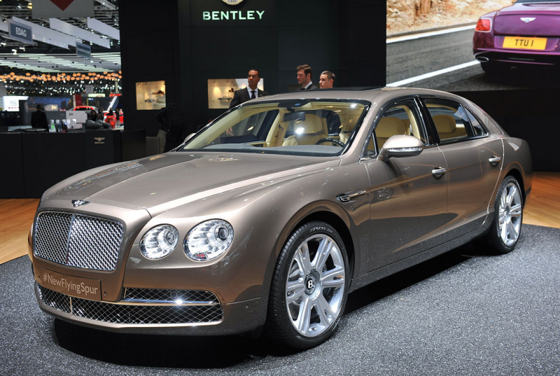 2014 bentley flying spur makes its swiss debut 2014 bentley