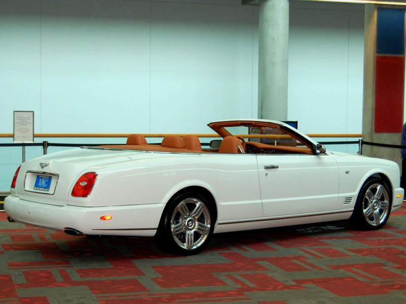 2010 Bentley Azure convertible by Partywave
