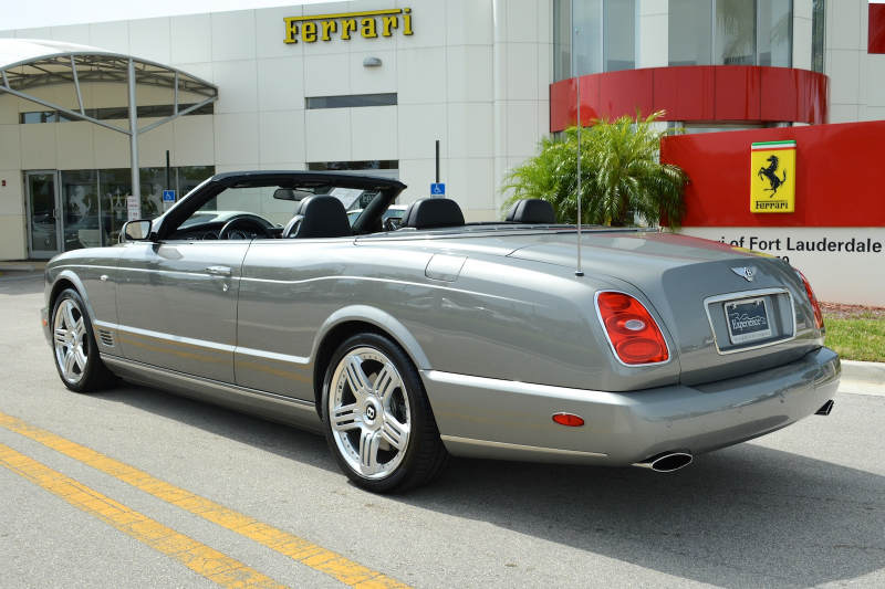 2010 bentley azure t beluga black color magnolia interior