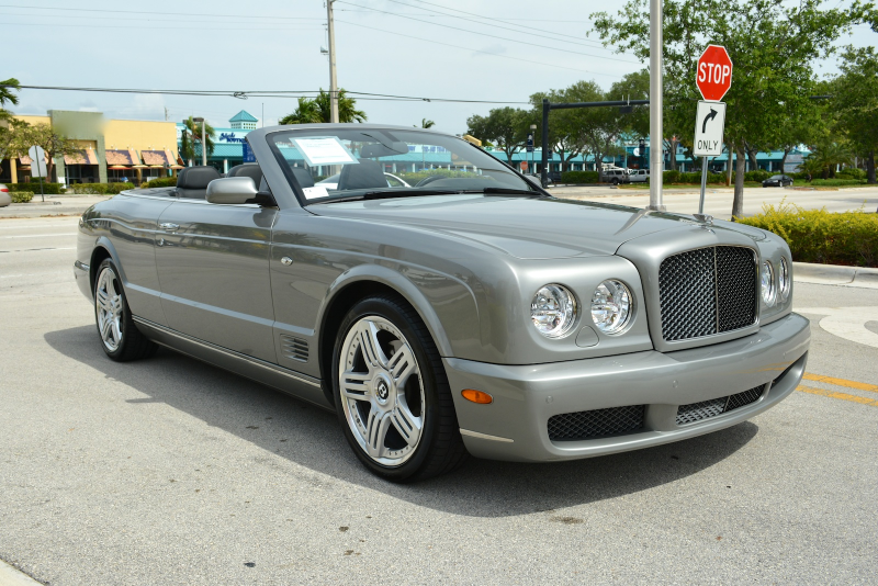 2010 BENTLEY AZURE T Convertible for sale in Fort Lauderdale, FL at ...