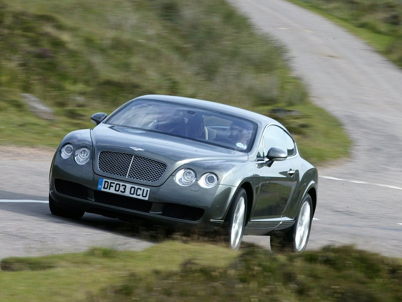 2003 Bentley Continental GT car specifications