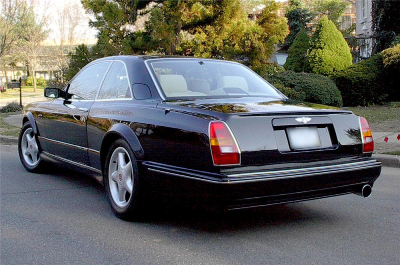1997 BENTLEY CONTINENTAL T 2 DOOR HARDTOP