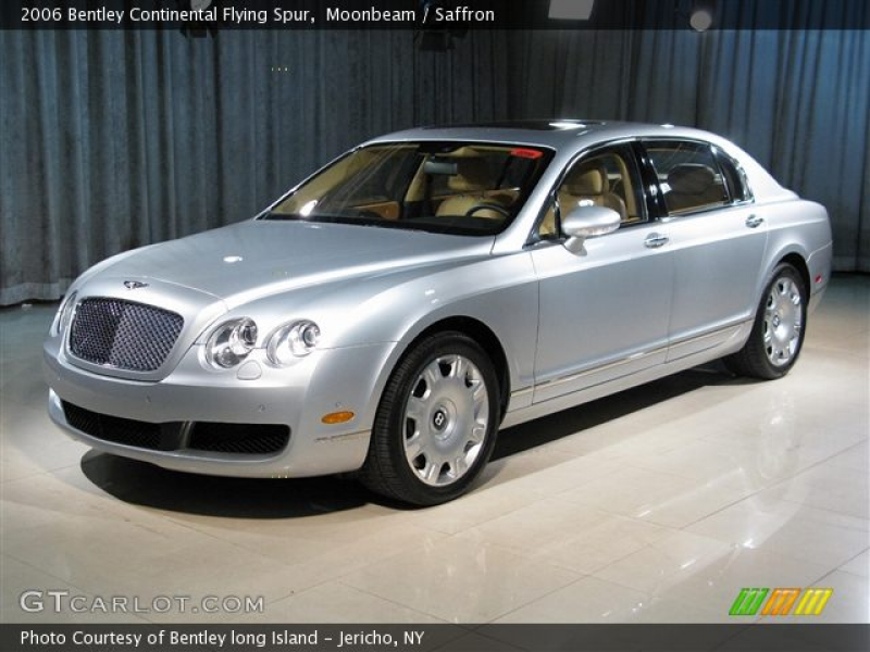2006 Bentley Continental Flying Spur in Moonbeam. Click to see large ...