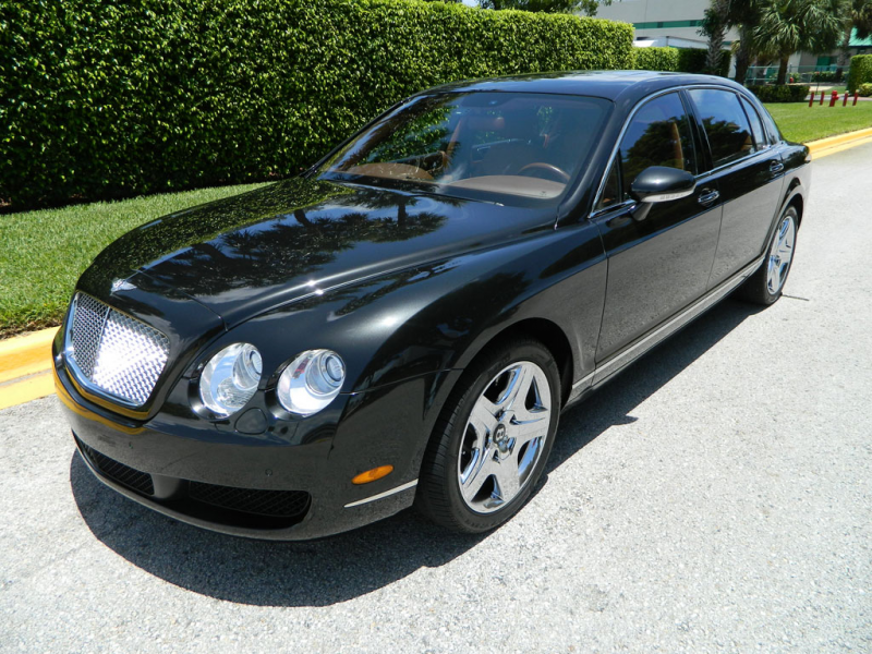 2006 Bentley Continental Flying Spur, Sapphire Blue with Magnolia ...