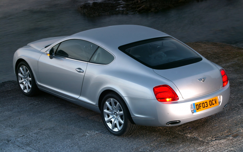 ... 2005 Bentley Continental GT vs. 2012 Bentley Continental GT Photo