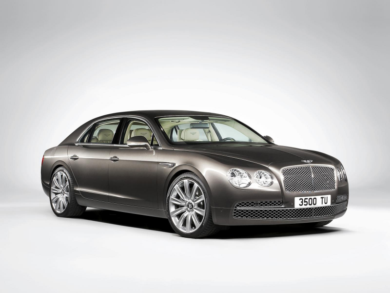 Leaked: Bentley Continental Flying Spur