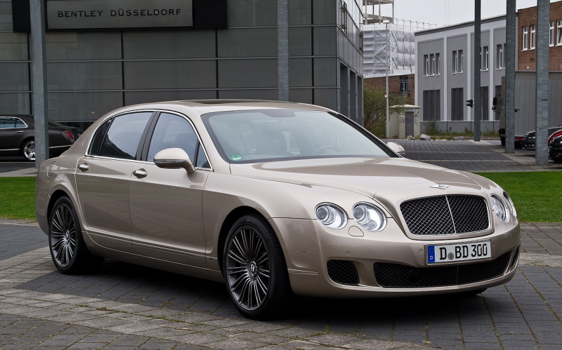 File:Bentley Continental Flying Spur Speed – Frontansicht (2), 5 ...