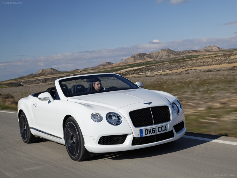 Bentley Continental GTC V8 2012