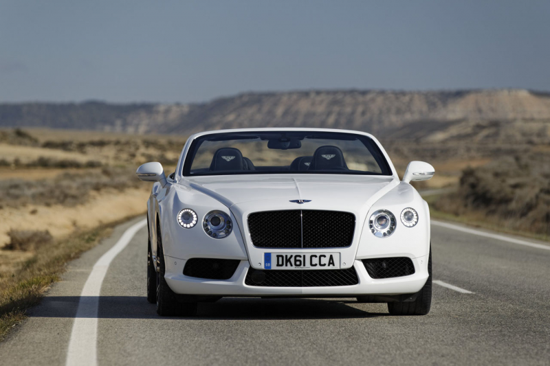 Bentley Continental GTC V8 Photos