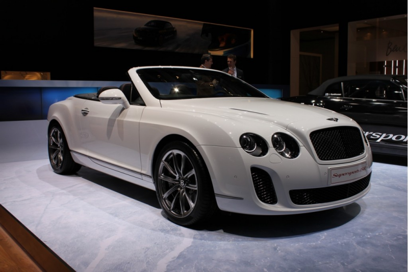 Bentley Continental Supersports Convertible ISR Live Photos: 2011 ...