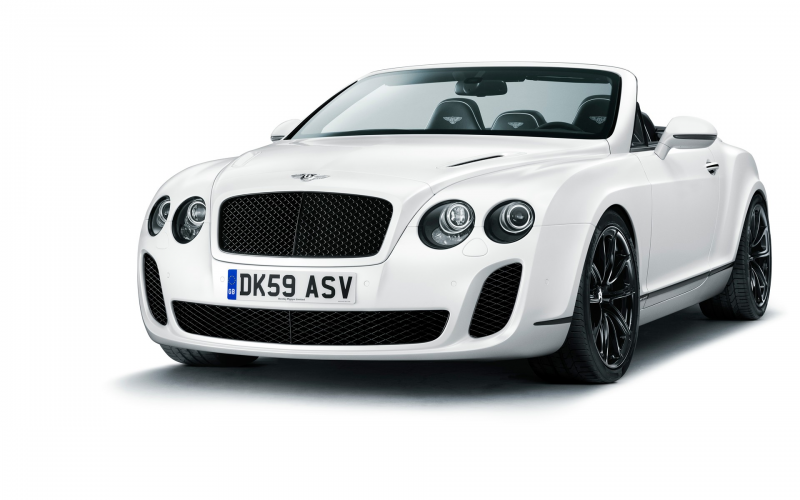 Wallpaper: bentley continental supersports convertible