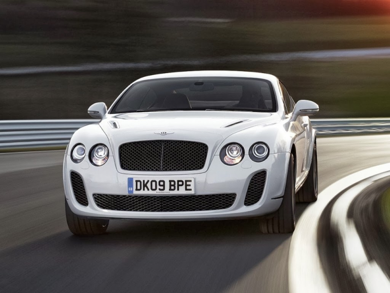 Bentley Continental Supersports White Color Cars Images Gallery