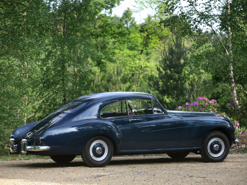 Bentley R-Type Continental Sports Saloon by Mulliner '1952–55