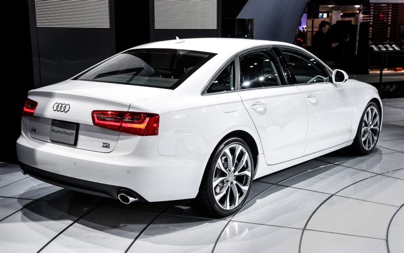 2014 Audi A6 Tdi Rear Right Side View