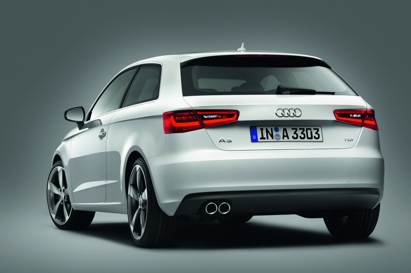 All-new 2013 Audi A3 Hatchback Pictures and Details