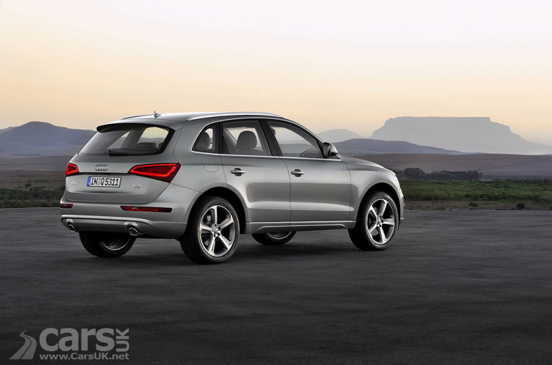 Pictures of the 2012 Audi Q5 Facelift