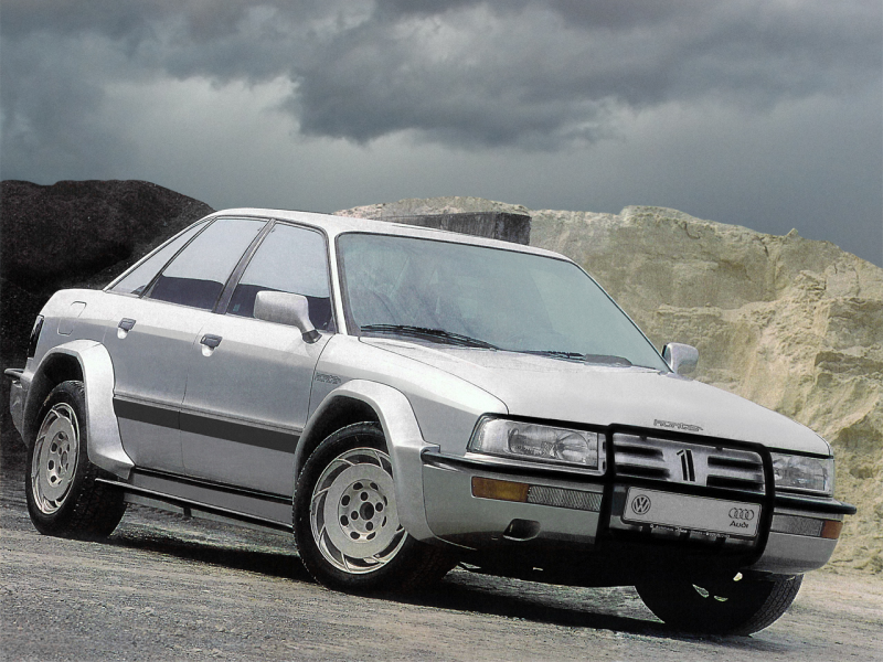 Audi 90 quattro Treser Hunter (Type 89) '1987