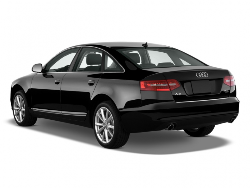 2010 Audi A6 4-door Sedan 3.0L quattro Prestige Angular Rear Exterior ...