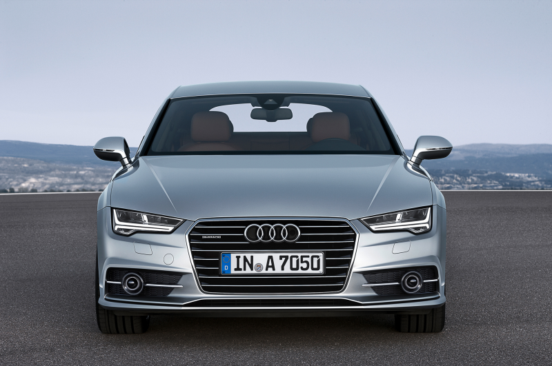 Updated 2015 Audi A7 Coming to U.S. Next Year Photo Gallery