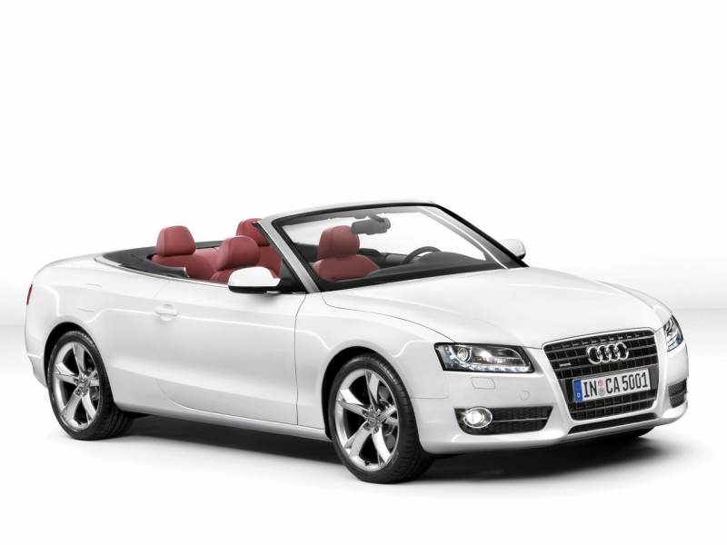 2010 Audi A5 Convertible - Front And Side - 1280x960 - Wallpaper