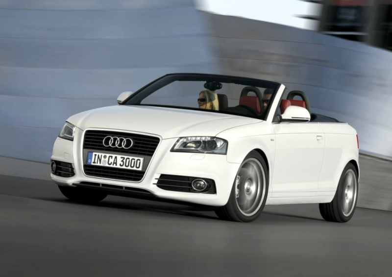 Audi A3 Cabriolet : German Small Car Flips Lid