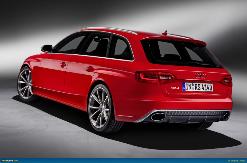 OFFICIAL: 2013 Audi RS4 Avant revealed